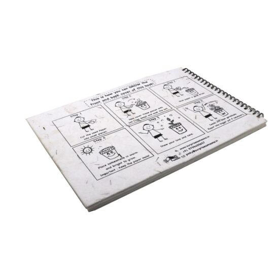 Plantable Drawing Book for Kids